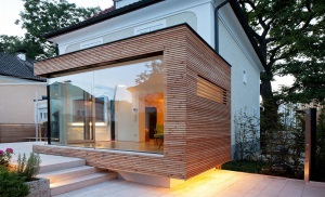 extension maison en bois