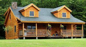 Maison en bois les diff rentes techniques de construction - Maisons en bois massif ...